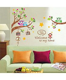 Syga Photo Frame Wall Sticker - Multicolor