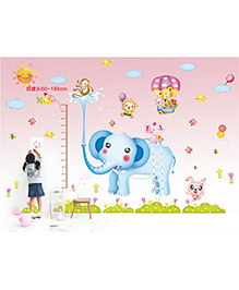 Syga Elephant Wall Sticker - Multicolor