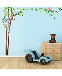 Syga Decals Tree Wall Sticker - Multicolor - 1077843