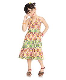 Little Pocket Store Ethnic Style Dress - Multicolour