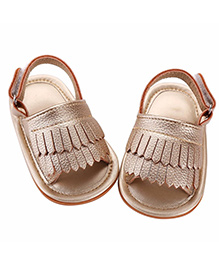 Akinos Kids Trendy Sandals - Golden
