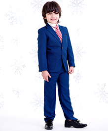One Friday Suit With Trouser - Blue