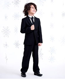 One Friday Suit With Trouser - Black