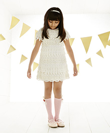 One Friday Lace Dress - Off White