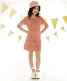One Friday Lace Dress - Pink