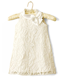 Nitallys Lace Dress - Off White