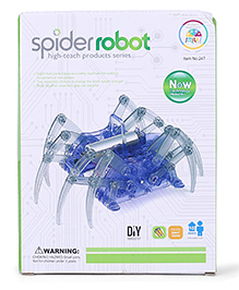 Smiles Creation Spider Robot Toy For Kids - Blue