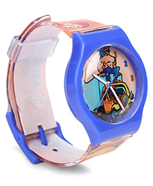 Fantasy World Analog Wrist Watch Chacha Chaudhary Sabu Print - Blue