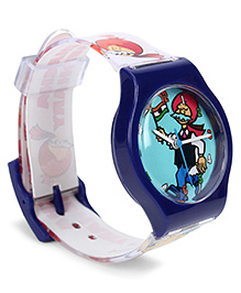 Fantasy World Analog Wrist Watch Chacha Chaudhary Print - Red