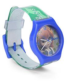 Fantasy World Wrist Watch Babes Print - Blue Green