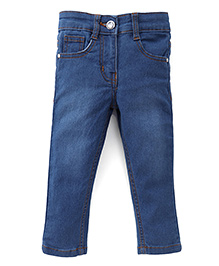 Babyhug Full Length Jeans - Blue