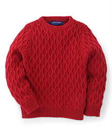 Bambini Kids Stylish & Comfortable Sweater - Red