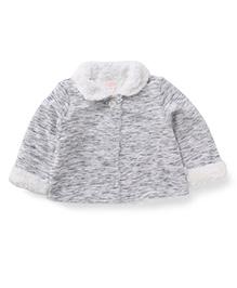 Pumpkin Patch Full Sleeves Jacket - Grey