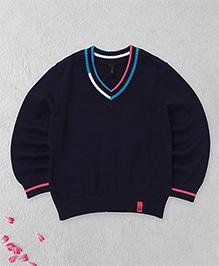 UCB Full Sleeves Sweater - Navy