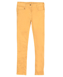Bella Moda Solid Color Denim - Yellow