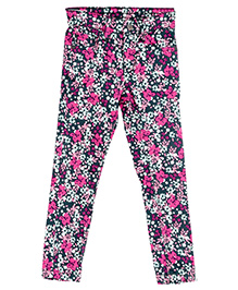 Bella Moda Floral Denim - Multicolor