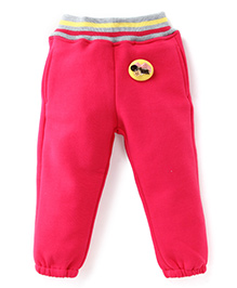 Play by Little Kangaroos Thermal Bottoms - Pink