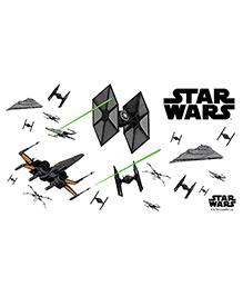 Orka Star Wars Digital Printed Wall Decal - Black