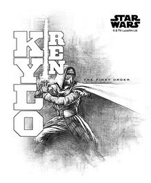 Orka Kylo Ren Digital Printed Wall Decal - Grey