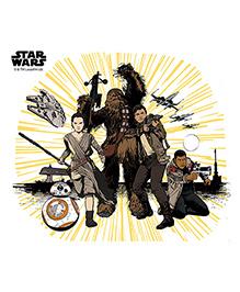 Orka Team Star Wars Digital Printed Wall Decal - Multicolor - 1087235