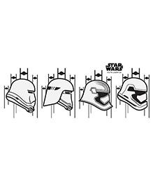 Orka Team Trooper Digital Printed Wall Decal - Black White