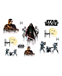 Orka Team Star Wars Digital Printed Wall Decal - Multicolor