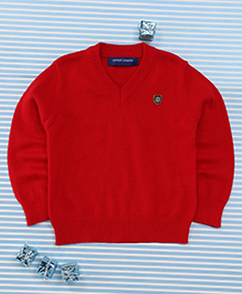 Bambini Kids Full Sleeves Pullover - Red