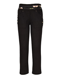 Cutecumber Full Length Trouser - Black