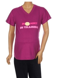 Uzazi - Maternity Active Wear Slogan Tshirt