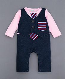 Superfie Mock Waistcoat Suit - Pink