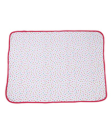 Tango Wrappers Heart Print - Pink White
