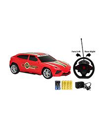 Emob Gravity Sensor RC Racing Furious 4 Suspended Manipulation Car - Red