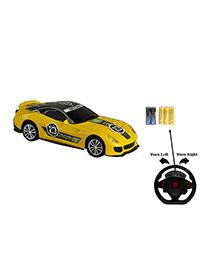 Emob Gravity Sensor RC Racing Furious 4 Suspended Manipulation Car - Yellow