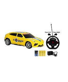 Emob Gravity Sensor RC Racing Furious 4 Suspended Manipulation Car - Light Yellow