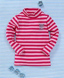 Water Melon Striped T-Shirt - Pink
