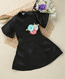 Shu Sam & Smith Friends Forever Dress - Black