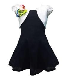 Shu Sam & Smith Duchess of York Dress - Black & White