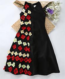Shu Sam & Smith Evening Enigma Dress - Black