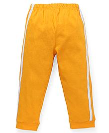 Babyhug Full Length Track Pants - Yellow