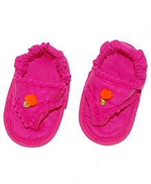 SnugOns Pretty Baby SlipOns - Fuchsia Pink