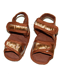 SnugOns Attractive Baby Sandals - Brown