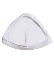 NeedyBee Baby Cap - White