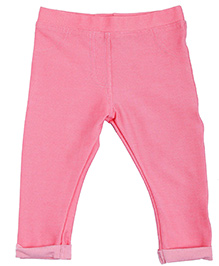 NeedyBee Full Length Jeggings - Pink