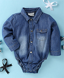 Happiness Baby Onesie - Blue