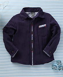 Little Star Stylish Shirt - Navy Blue