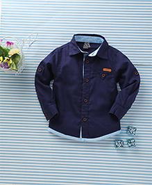 Little Star Classic Shirt - Navy Blue