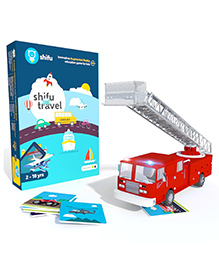 Shifu Travel Mobile App Augmented Reality Card Game - Multi Color