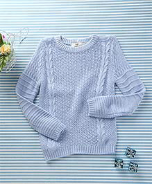 In.f Kids Casual Sweater - Sky Blue