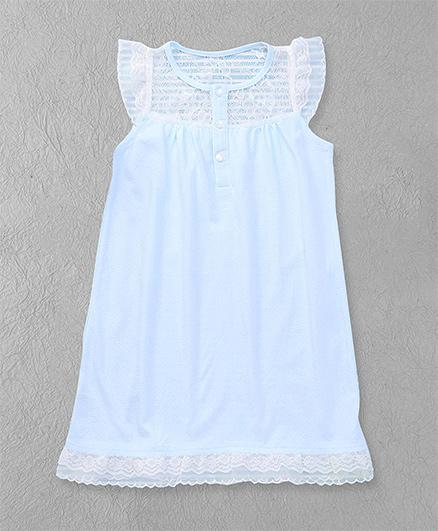 El Hogares Elegant Dress - Blue