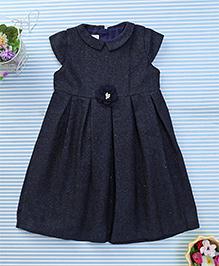 Amigo 7 Seven Floral Print Dress - Navy Blue